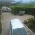 pavés granit pour parking