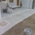 Trottoir pavés et bordures granit